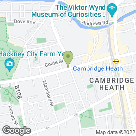Map of Quattro Bar & Grill Ltd in London, london