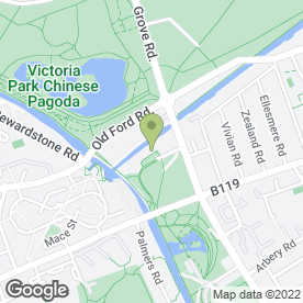 Map of Regents Lake Venue in London, london