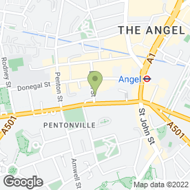 Map of Islington & Hampstead Locksmiths in London, london