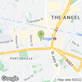 Map of Fujian White Crane Kung Fu & Tai Chi in London, london