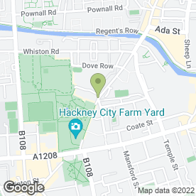 Map of Little Georgia Cafe Ltd in London, london