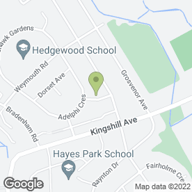 Map of Facelift Electrical Services in Hayes, middlesex