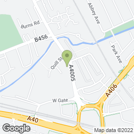 Map of The Fox & Goose Hotel in Ealing, London, london