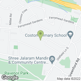 Map of Greenford Heating And Boiler Specialists in Greenford, middlesex