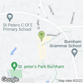 Map of CONNECT RECRUITMENT CONSULTANTS in Burnham, Slough, berkshire