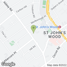 Map of ST JOHNS WOOD AUTO'S in London, london