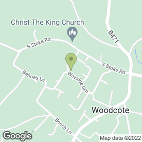 Map of ACG Services in Woodcote, Reading, berkshire