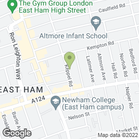 Map of Syed Arif & Co in East Ham, LONDON, london