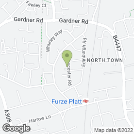 Map of FRESH & CLEAN LAUNDRETTE in Maidenhead, berkshire