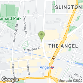 Map of The Angelic in London, london
