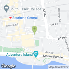 Map of Citizens Advice Bureau in Southend-On-Sea, essex