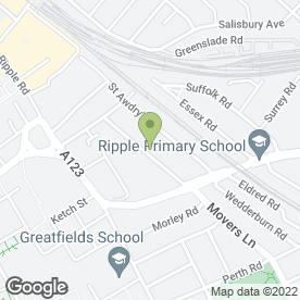 Map of A-Z Garage Ltd in Barking, greater london