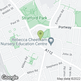 Map of Triumph Hair & Beauty Salon in Stratford, London, london