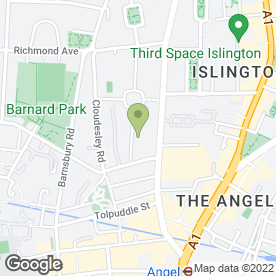 Map of Islington Electricians in London, london