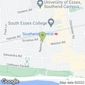 Map of Harrison Jorge Ltd in Southend-On-Sea, essex