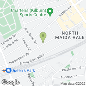 Map of Victor Dias-AA Driving School in London, london