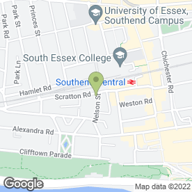 Map of The Green Room - Professional Sugaring in Southend-On-Sea, essex