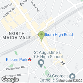 Map of Quality Maitrise Hotel Maida Vale in London, london