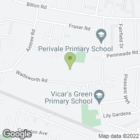 Map of Cool Wave in Perivale, Greenford, middlesex