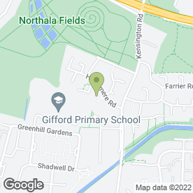 Map of Plumb London Northholt in Northolt, middlesex