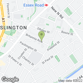 Map of Gartenart Natural Swimming Pools in London, london