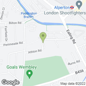 Map of Kelly Autos in Sunleigh Road, Wembley, middlesex