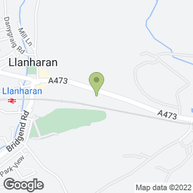 Map of Dr Ink in Llanharan, Pontyclun, mid glamorgan