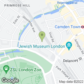 Map of Axis Driving School in London, london