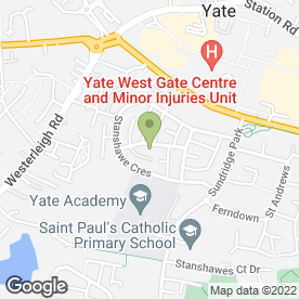 Map of B P Flooring in Yate, Bristol, avon