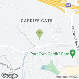 Map of BPU Limited in Cardiff Gate Business Park, Cardiff, south glamorgan