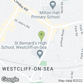 Map of Carcraft in Westcliff-On-Sea, essex