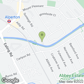 Map of E J Bushell & Sons Ltd in Alperton, Wembley, middlesex