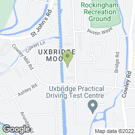 Map of NSS Refrigeration in Uxbridge, middlesex