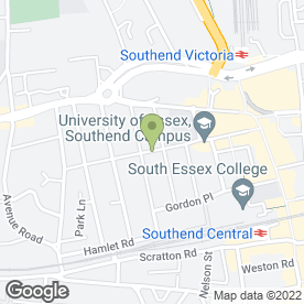 Map of Professional Music Technology in Southend-On-Sea, essex
