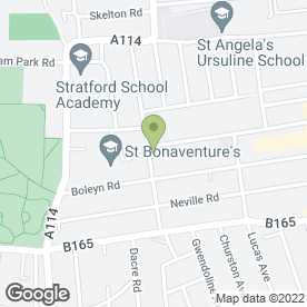 Map of Stepping Stones Childcare ltd in London, london