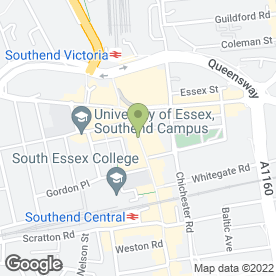Map of McDonald's Restaurants Ltd in Southend-On-Sea, essex