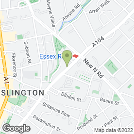 Map of Sun Hing Chinese Takeaway in London, london