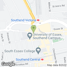 Map of Cheltenham & Gloucester plc in Southend-On-Sea, essex