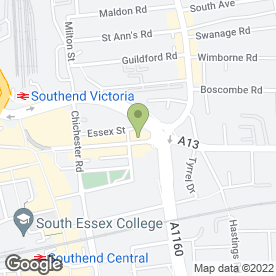 Map of Yoga Dharma in Southend-On-Sea, essex