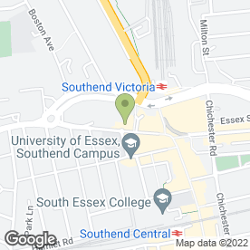 Map of Royal Bank of Scotland in Southend-On-Sea, essex