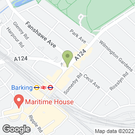 Map of Yourlostkey.Com in Barking, greater london