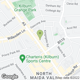 Map of Kilburn Heating And Boiler Specialists in London, london