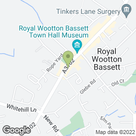 Map of Starfish & Coffee in Wootton Bassett, Swindon, wiltshire