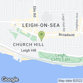 Map of Abbey Removal Services in Leigh-on-Sea, essex