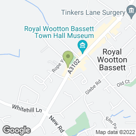 Map of Body Beauty by Bernice Ltd in Wootton Bassett, Swindon, wiltshire
