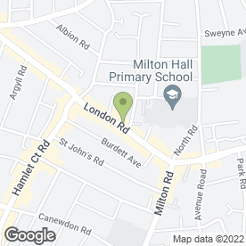 Map of Barolo Restaurant in Westcliff-On-Sea, essex