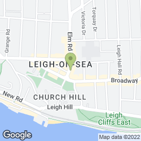 Map of LPC STATIONERS in Leigh-On-Sea, essex