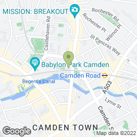 Map of Ivy House Dental Practice in London, london