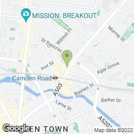 Map of D Jansen UK Ltd in London, london