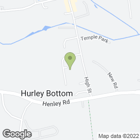 Map of Maths & Science Tuition in Hurley, Maidenhead, berkshire